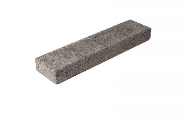 Betonilaatta 150x600x65 musta, urapuoli