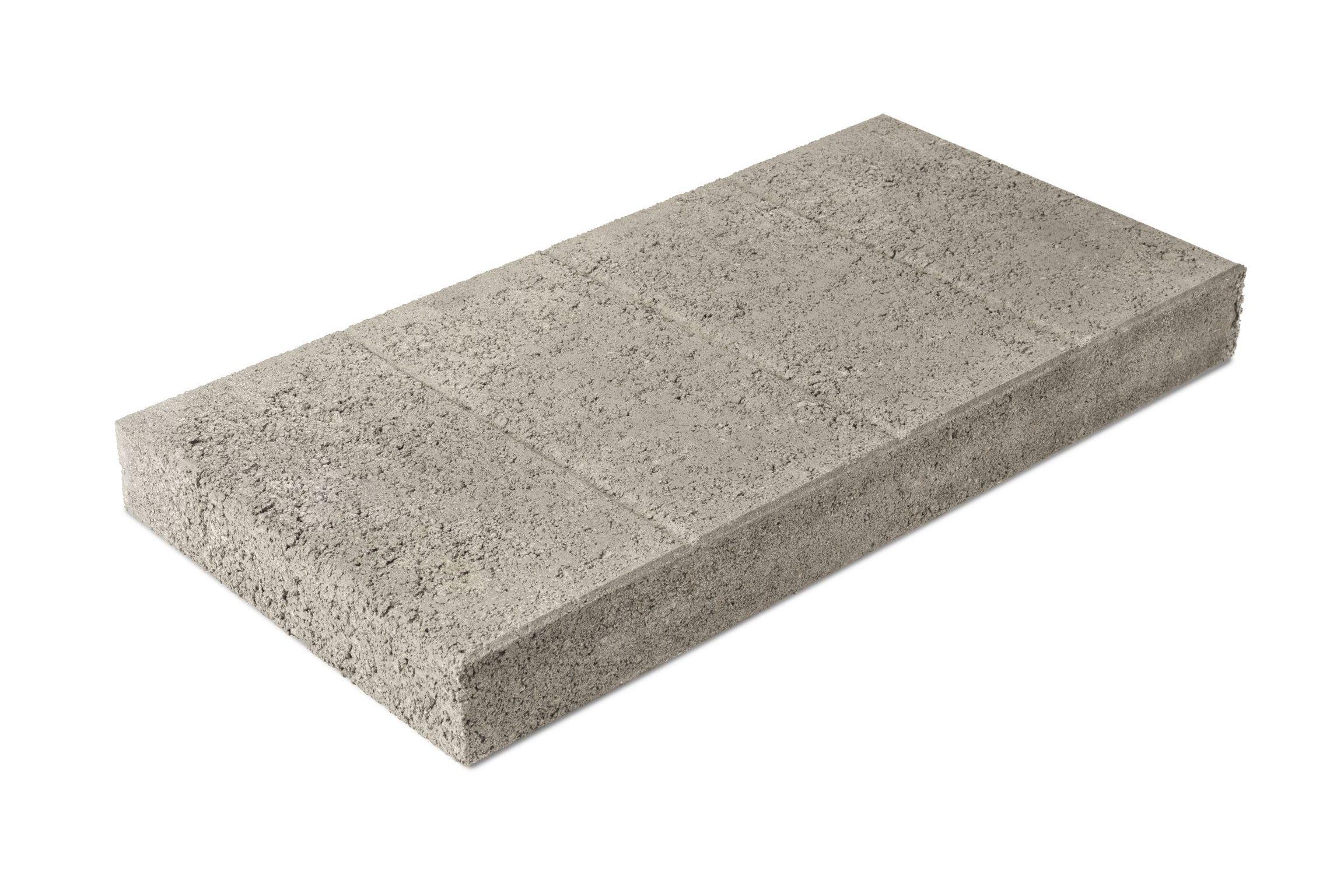 Betonilaatta 300x600x65 harmaa, urapuoli