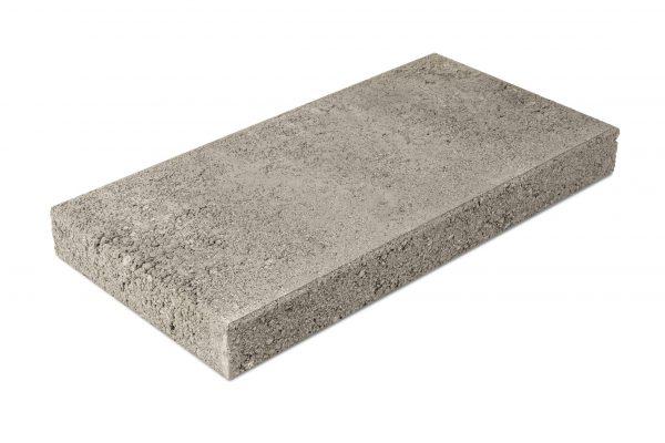 Betonilaatta 300x600x65 harmaa, sileä puoli