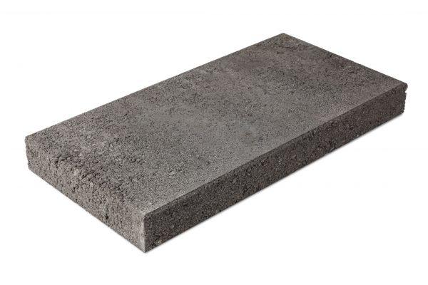 Betonilaatta 300x600x65 musta, sileä puoli
