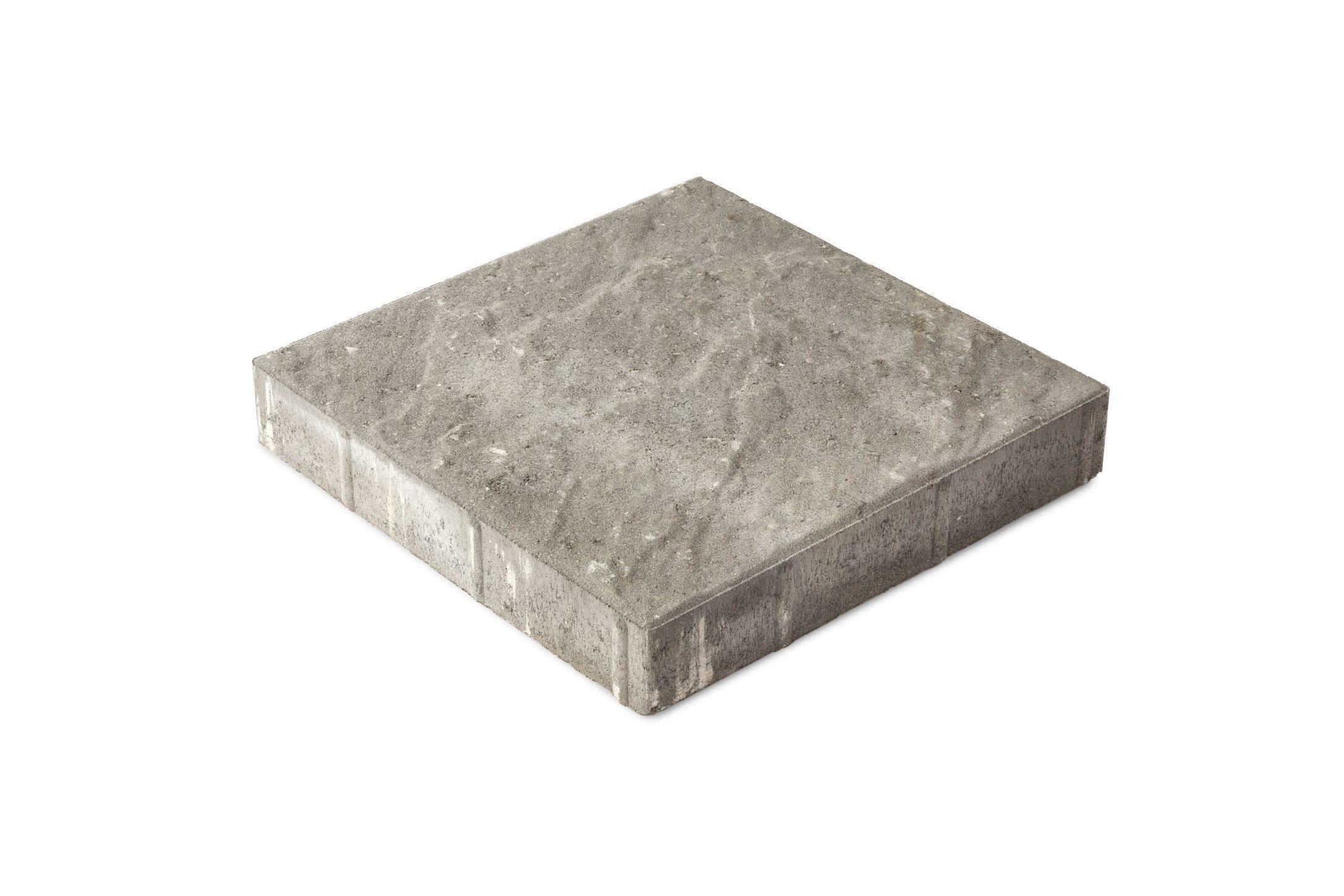 Pintaprofiloitu betonilaatta 298x295x50 harmaa