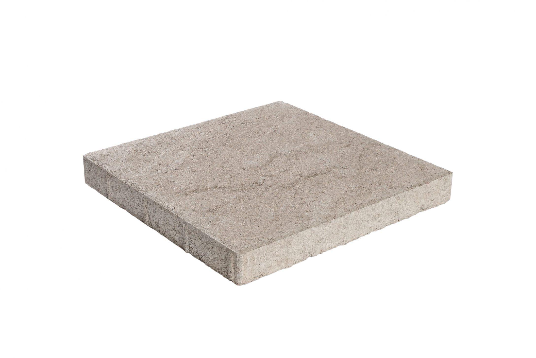 Pintaprofiloitu betonilaatta 398x398x50 harmaa