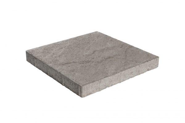 Pintaprofiloitu betonilaatta 398x398x50 musta