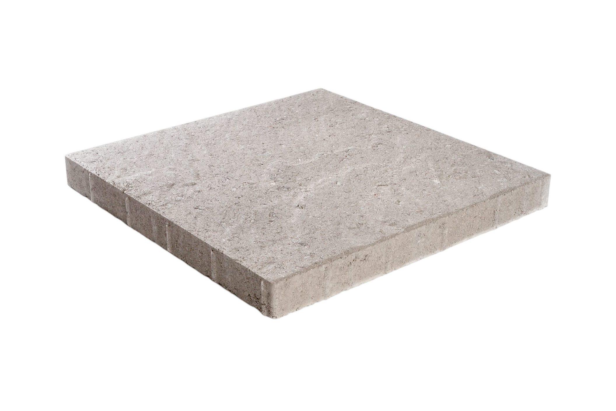 Pintaprofiloitu betonilaatta 498x498x50 harmaa