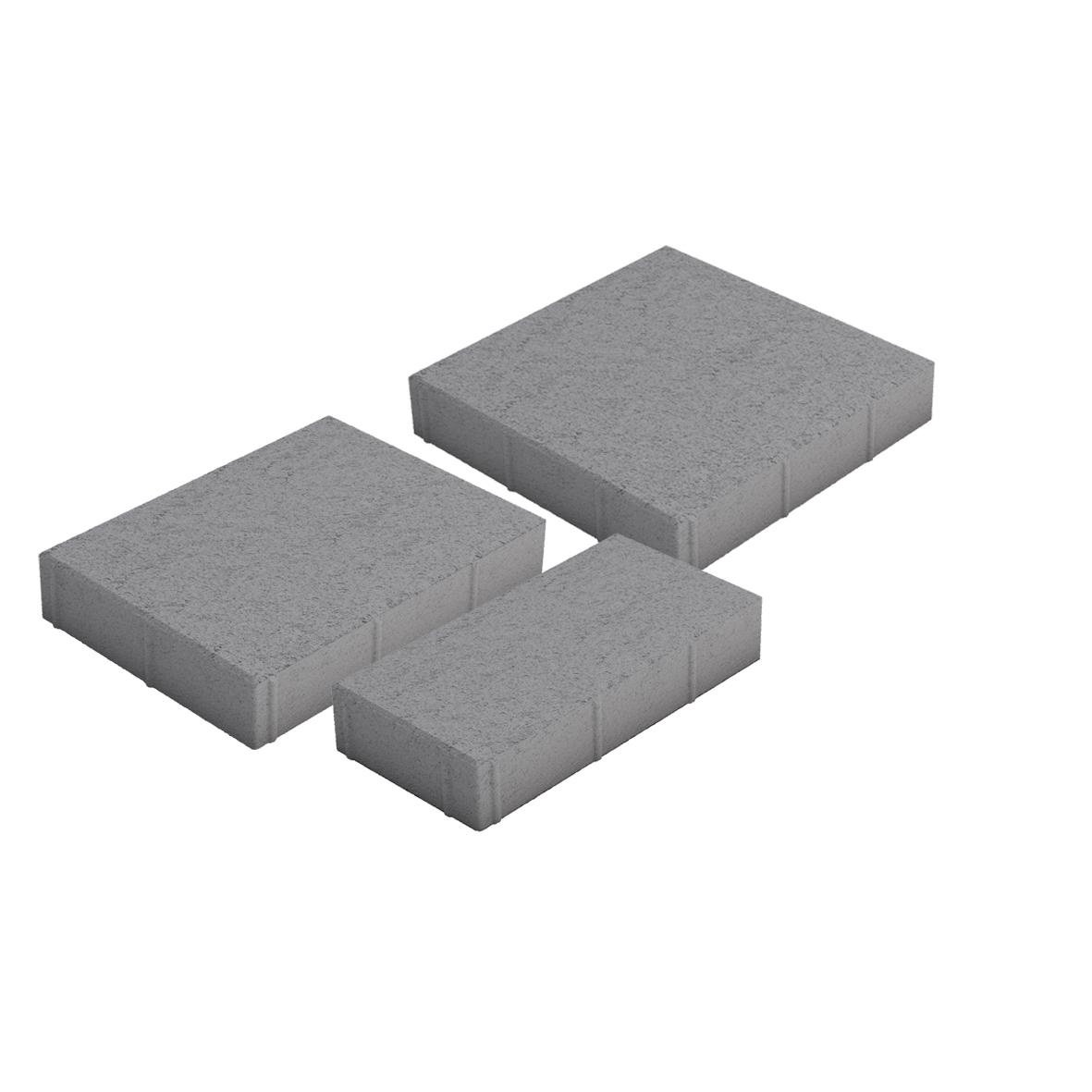 Roomalaiset isot kivet harmaa 3 kiveä