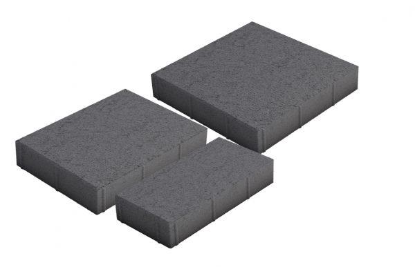 Roomalaiset isot kivet musta 3 kiveä