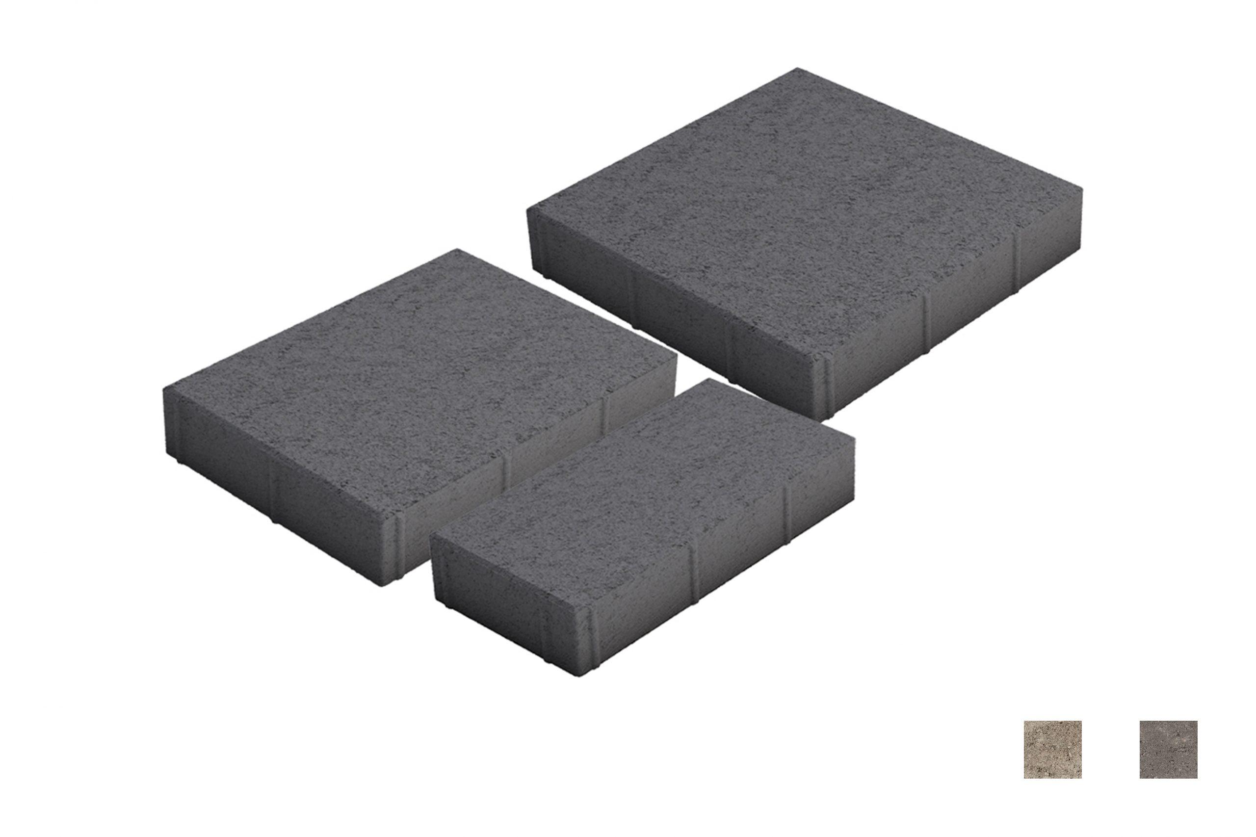 Roomalaiset isot kivet musta värimallit