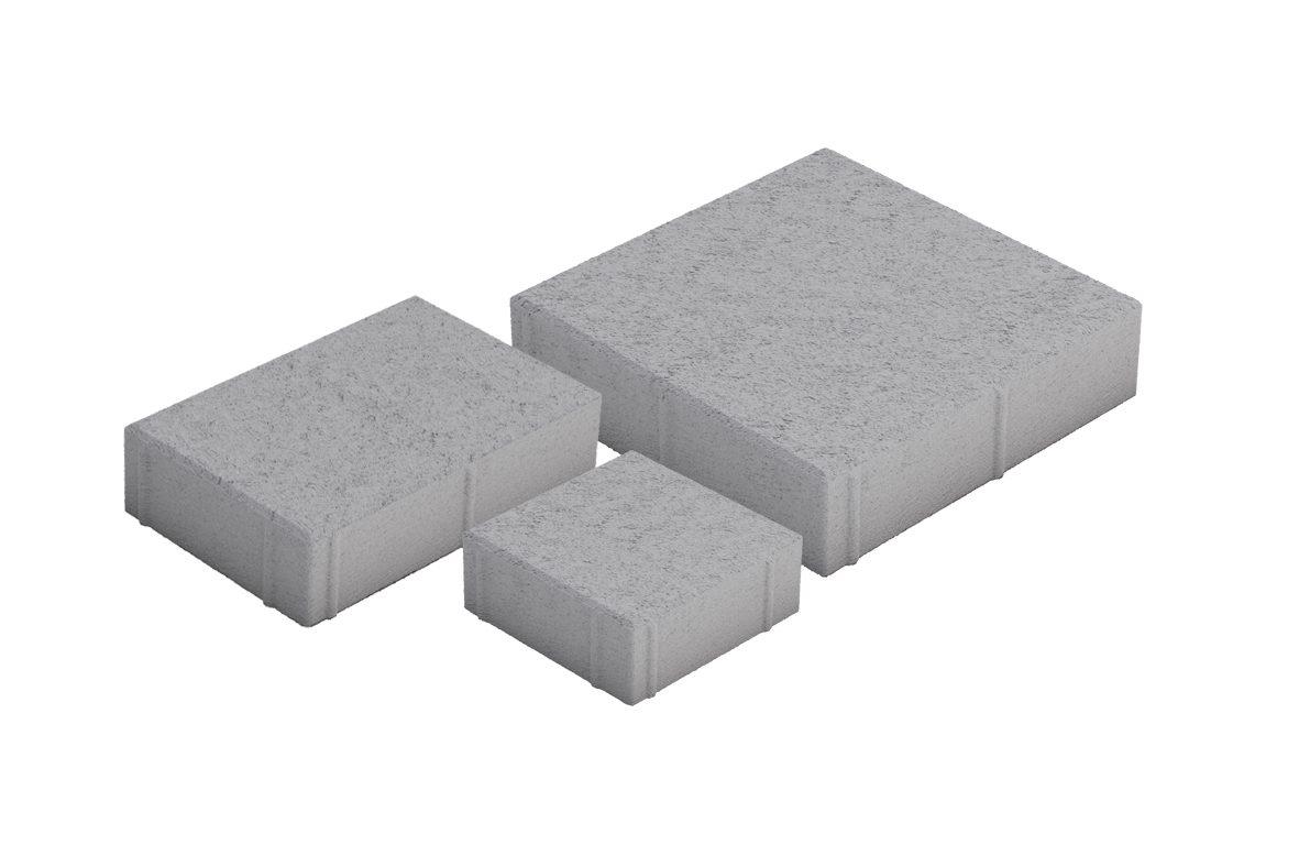 Roomalaiset pienet kivet harmaa 3 kiveä