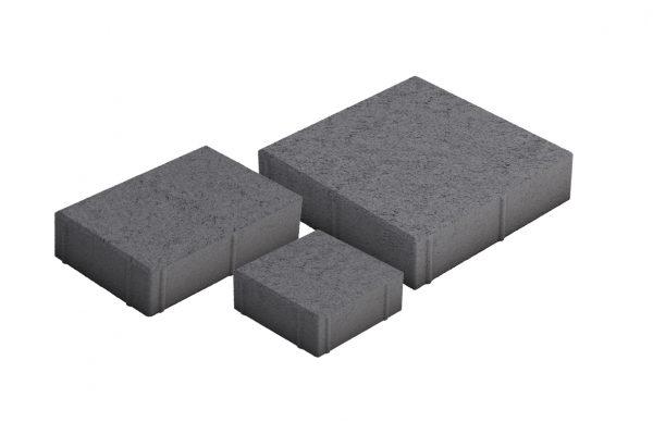 Roomalaiset pienet kivet musta 3 kiveä