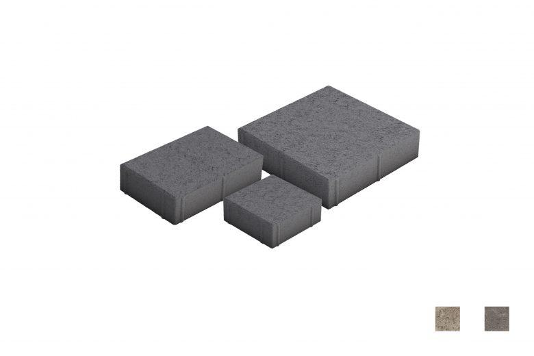 Roomalaiset pienet kivet musta värimallit