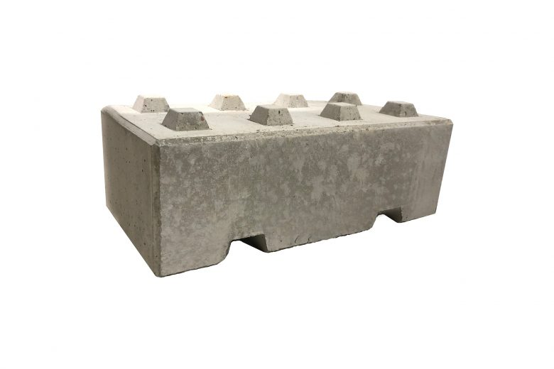 Blokki betoninen liikenne-este