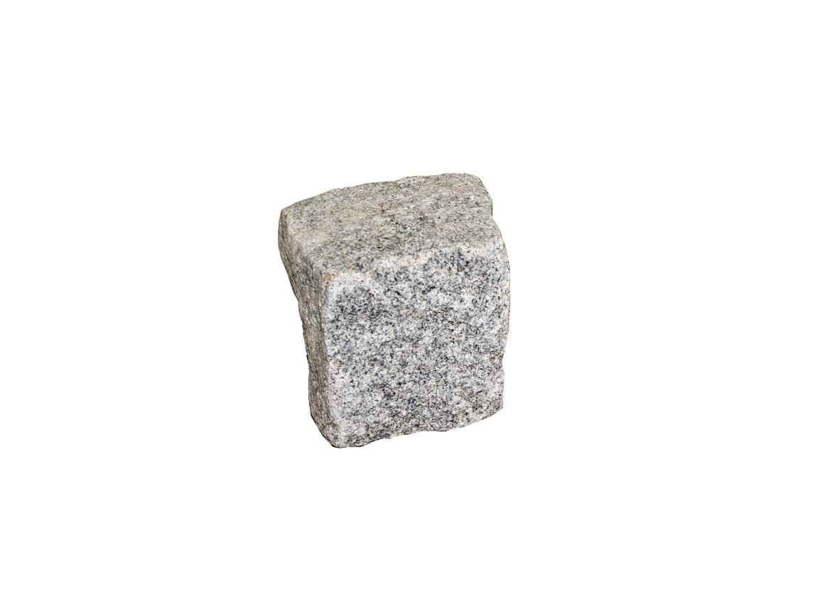 Noppakivi, lohkottu graniittikivi